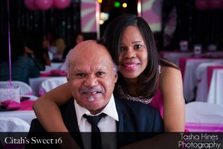 Citah Sweet 16: Father and Daughter Moment