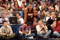 Dwyane Wade of Miami Heat VS New York Knicks