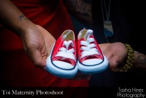 Toi and Americo Photoshoot: New baby shoes