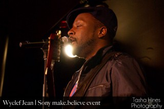 Wyclef at Sony's make.believe Live Sets