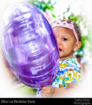 Bliss' 1st Birthday : Balloon