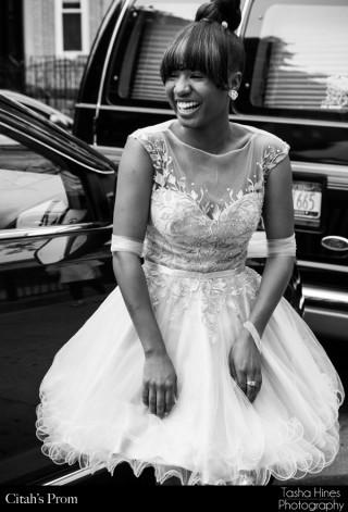 Citah's Prom: B&W