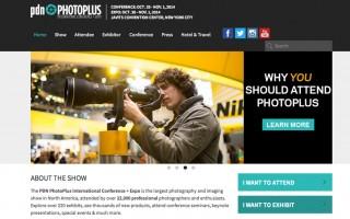 PhotoPlus Expo Website